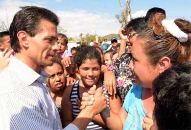 """""""Indudable"""" el apoyo de Peña Nieto a BCS"""