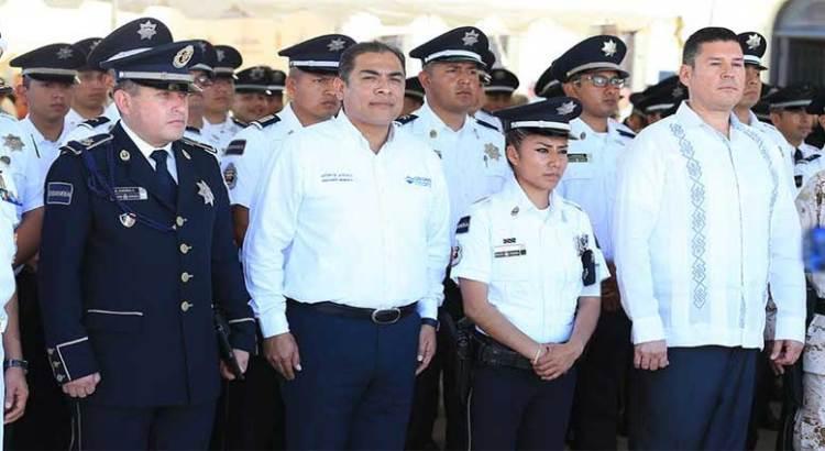 Garantiza Alcalde trabajo de prevención y colaboración en seguridad