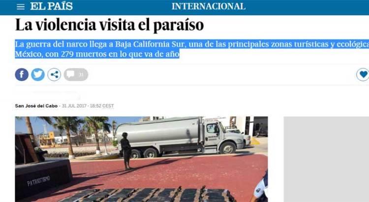 """""""La violencia visita el paraíso"""""""