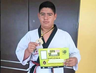 Competirá taekwondoin cabeño en Egipto