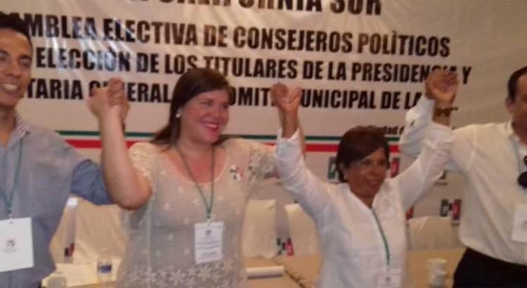 Abimael Ibarra y Marisela Ayala, los nuevos dirigentes del priismo paceño
