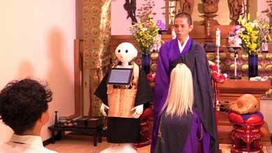 Realizarán robots ritos funerarios