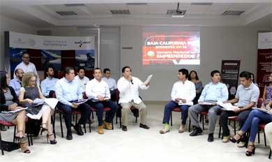 3ª. Sesión  del Consejo Estatal de la Red de Apoyo al Emprendedor