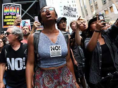 Esperan neoyorquinos a Trump