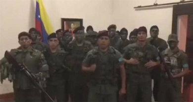 Aplacan fuerzas venezolanas sublevación militar