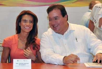 Pide la esposa de Javier Duarte asilo político en Londres