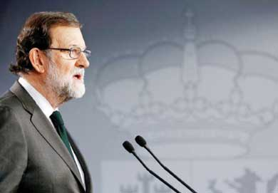 Amenaza Rajoy con mantener intervención