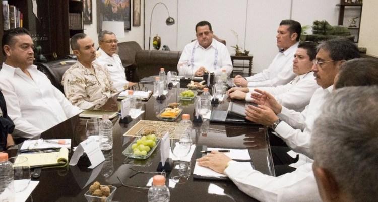 Encabezó el gobernador reunión del Grupo de Coordinación