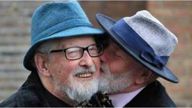 Se casó pareja heterosexual