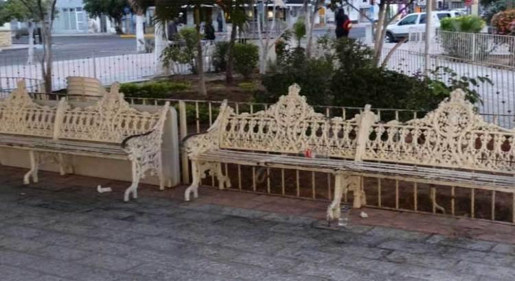 Violan leyes federales las obras del centro histórico de La Paz