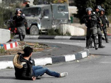 Más de cien palestinos heridos en protestas