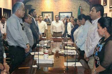 Presentan en Cabildo presupuesto para el 2018