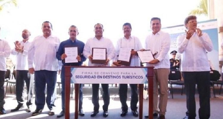 Ofrecen empresarios respaldo al Acuerdo por la Seguridad de Destinos Turísticos