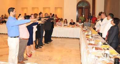 Reeligen mesa directiva del SIEE Los Cabos