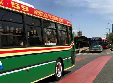 Suben en Argentina las tarifas de transporte público