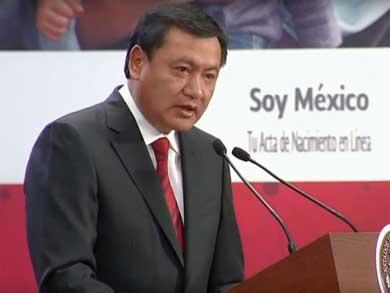 Renuncia Osorio Chong a Gobernación