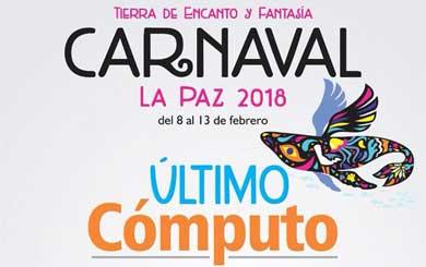 Este sábado último cómputo del Carnaval