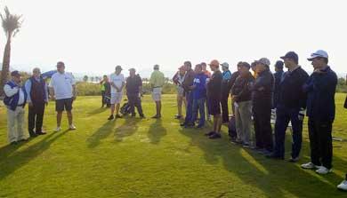 Arrancó torneo de Golf