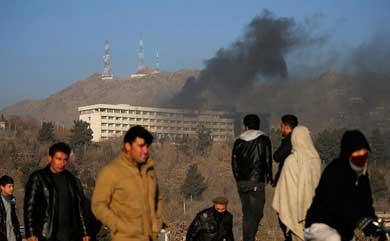 Ataca Talibán el Hotel Intercontinental en Kabul