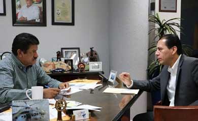 Acuerdan coordinación Procurador de Justicia y Alcalde de La Paz