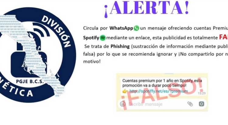 Aguas con mensaje en Whatsapp