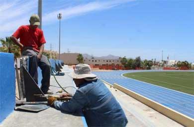Sin electricidad la Unidad Deportiva CSL
