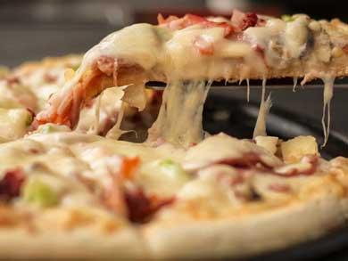 Desayuna sano: come pizza