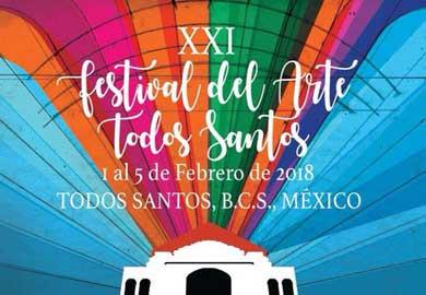 Todo listo para Festival del Arte Todos Santos