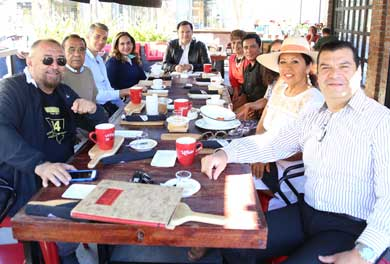 Se reunió Tesorera General con integrantes de Canirac Los Cabos