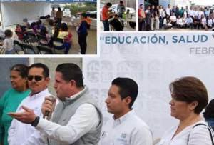 Jornada social en Real Unidad donde se ofrecieron distintos servicios para las familias de la comunidad Real Unidad.