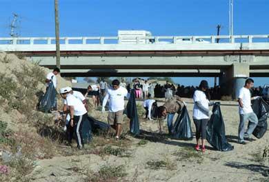 """Jornada """"Limpiemos nuestro México"""" el arroyo Salto Seco"""