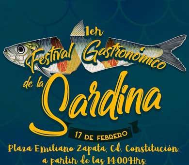 Invitan al Festival de la Sardina