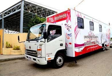 Ponen en marcha unidad móvil de especialidades médicas