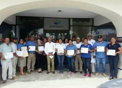 Participa UABCS Los Cabos en capacitación