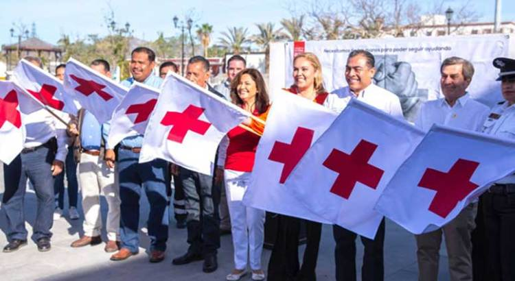 Inició la colecta Cruz Roja 2018