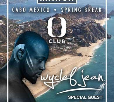 Wyclef Jean en Los Cabos