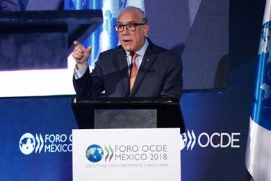 Aumenta OCDE previsión de crecimiento para México