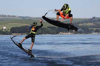 Adrenalina pura sobre el agua