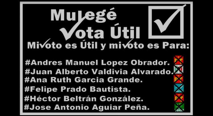 """Piden el """"voto útil"""" en Mulegé"""