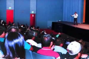 """simposio """"Manejo de Intoxicaciones Causadas Por Animales de Ponzoña"""", en Cabo San Lucas, en las instalaciones del Pabellón Cultural de la República."""