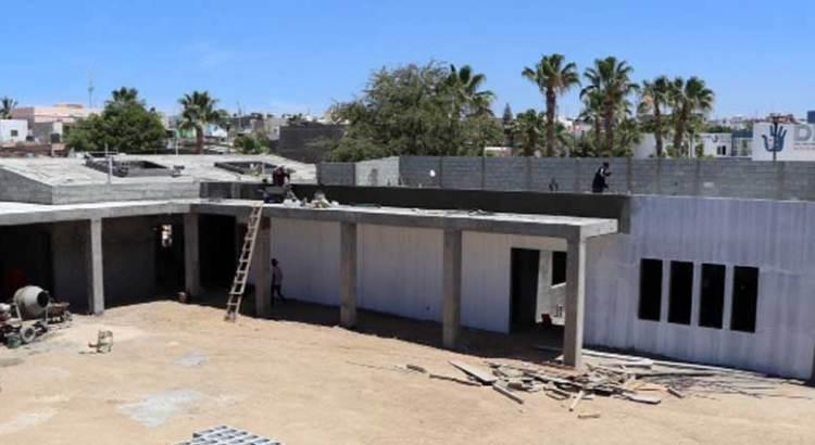 En su etapa final de construcción el Centro de inclusión en CSL