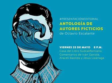 Presentan Antología de Autores Ficticios