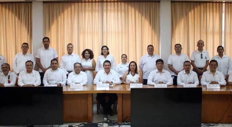 Recibe UABCS a Comités Interinstitucionales para la Evaluación de la Educación Superior