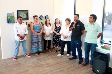 """Inauguraron """"Pintura y Artesanía de BCS"""""""