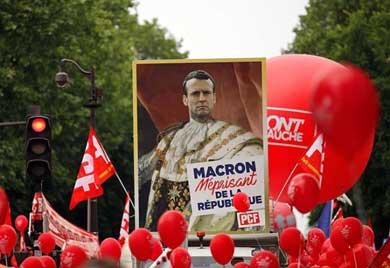 Miles protestan en Francia