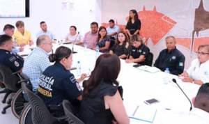 """reunión de trabajo """"Seguridad y Bienestar para los niños y las niñas en la zona turística de Cabo San Lucas"""""""