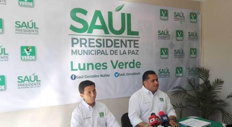 Se compromete Saúl González en apoyar el deporte y la cultura