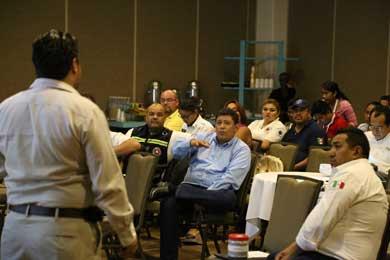 Participa Los Cabos en taller nacional de Protección Civil