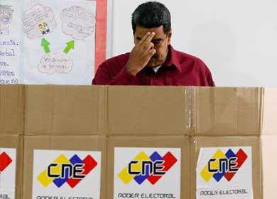 """Los comicios venezolanos, un """"insulto a la democracia"""""""