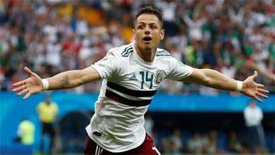 México en octavos de final
